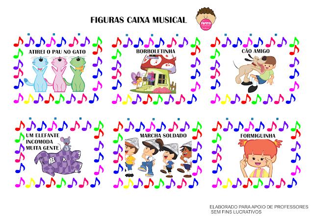 Baixe Figuras e aprenda a fazer sua caixa musical