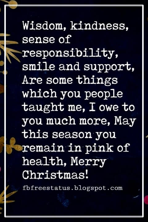 Christmas Messages for Grandparents