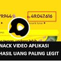 Cara Dapat 1 Juta Per Hari Dari Aplikasi Snack Video, Ikuti Caranya!
