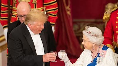 Trump wades in to British Monarchy's royal fallout