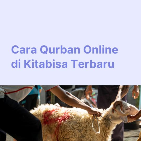 Cara Qurban Online di Kitabisa Terbaru