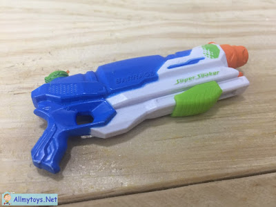 World smallest Nerf Super Soaker 8