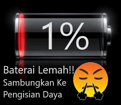 Baterai-Lemah