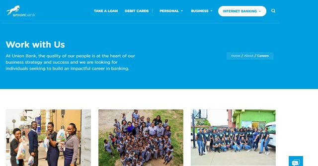 Union Bank of Nigeria Plc Recruitment / Get Latest Job Opportunities
