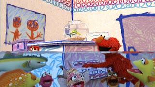 Sesame Street Elmo's World Fish