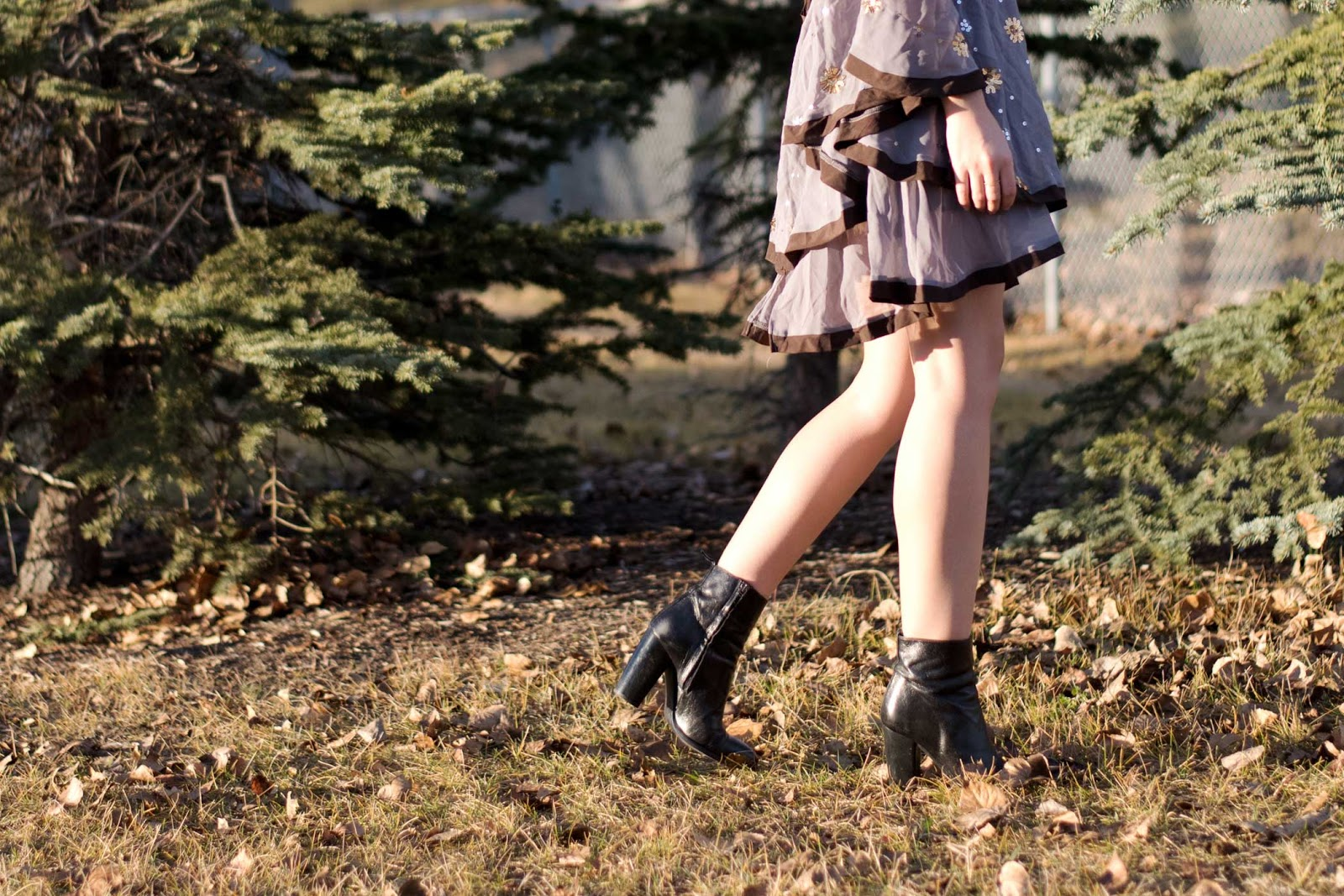 Sequinned Dress, zaful, sock booties, yyc fashion