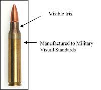 munição calibre 5.56