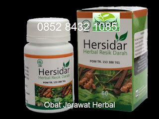 Obat jerawat alami Hersidar Herbal Resik Darah Asli Original Herbal