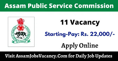 APSC Recruitment 11 Vacancy