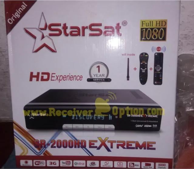 STARSAT SR-2000HD EXTREME RECEIVER NEW SOFTWARE V2.93 30 APRIL 2021
