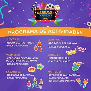 actividades carnaval ensenada 2020