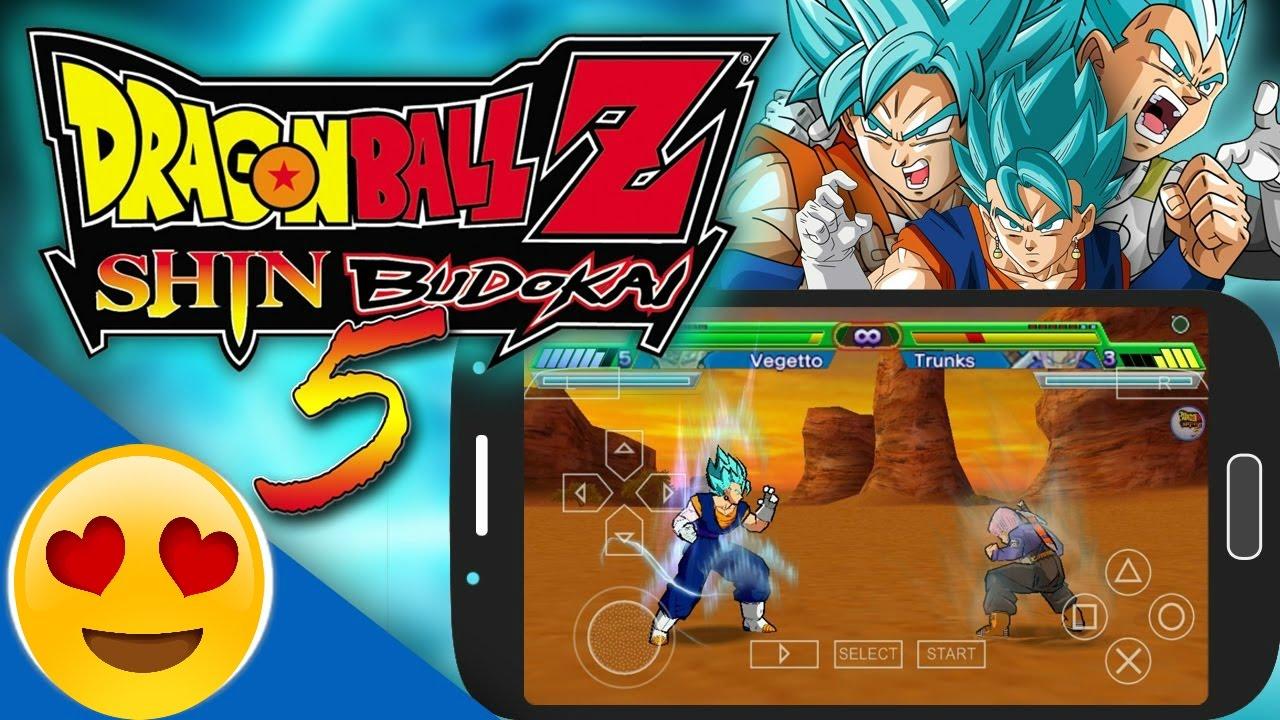 تحميل وتشغيل مود رهيب للعبة Dragon Ball Z Shin Budokai 5 +