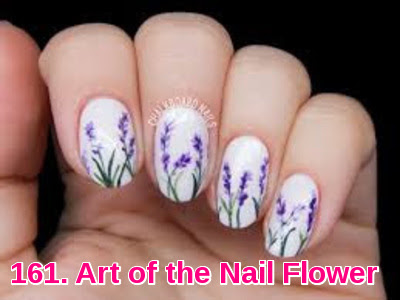 Art of the Nail Flower