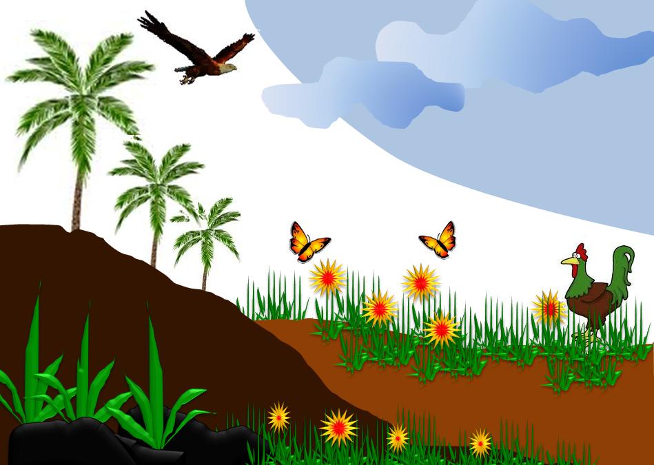 Rantai Makanan Yang Mungkin Terjadi Di Ekosistem Kebun Adalah Sahabat Belajar Sd