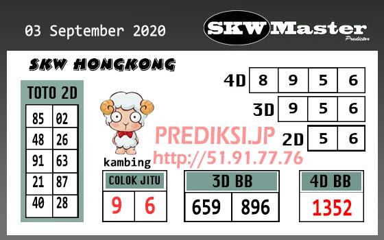 Skw Master HK Kamis 03 September 2020