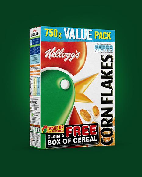 Download Cereal Box Mockup - Download Premium mockups! Mockups ...