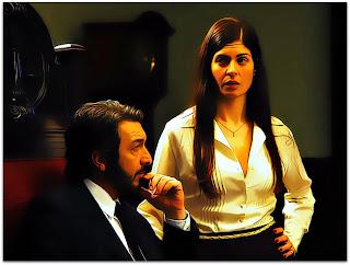 Benjamin Esposito (Ricardo Darín) e Irene  (Soledad Villamil) (O Segredo dos Seus Olhos)
