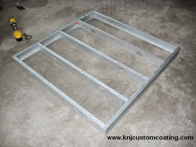 Powder Coating Oven Rivet Stud Frame