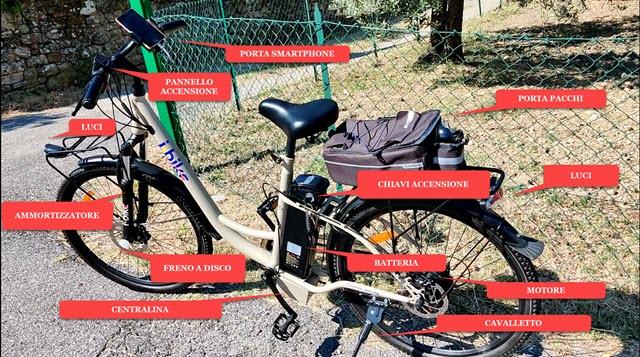bicicletta i-bike