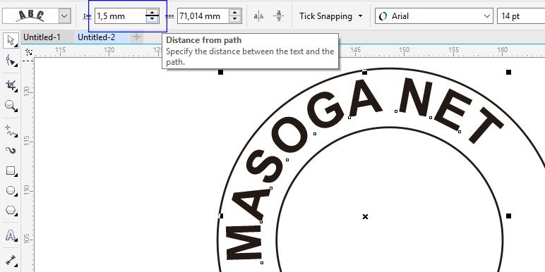 Cara Membuat Desain Logo Stempel Menggunakan CorelDraw X7