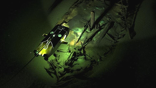 60 ancient shipwrecks found by climate scientists at the bottom of Black Sea