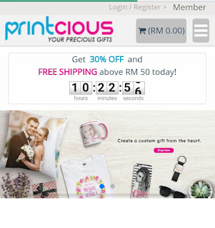 Online gift shop malaysia,  malaysia gift shop,  printcious,  custom hadiah
