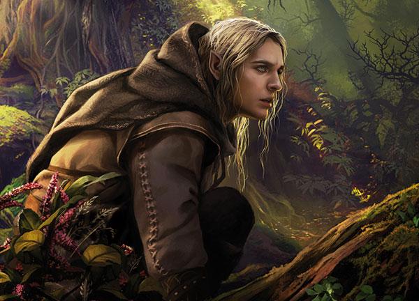 Los elfos de Tolkien para Dungeons & Dragons - Elfo Silvano