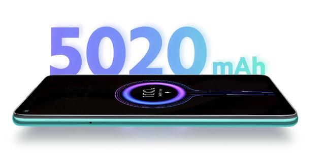 Xiaomi Redmi Note 9 Battery