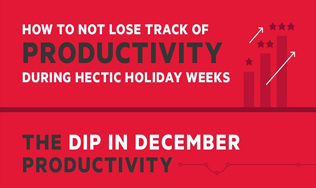 How to Not Lose Track of Productivity During Hectic Holiday Weeks