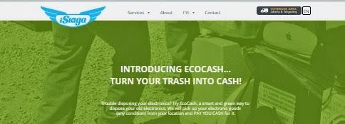 EcoCash dari iSiaga Mengubah Sampah Elektronik Menjadi Uang