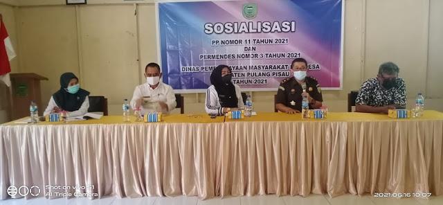 Gandeng Kejaksaan, DPMD Pulpis Sosialisasi di Jabiren Raya