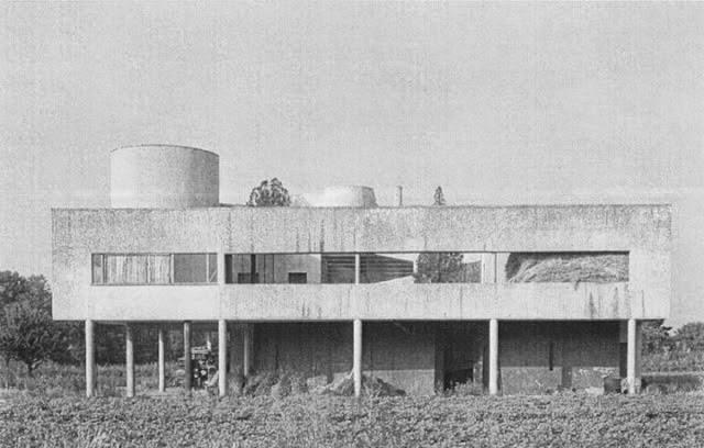 Villa Savoye in Poissy   Le Corbusier   1929   Clásico de la Arquitectura