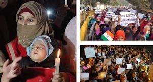 Shaheen bagh protest :   पुलिस की अपील को ठुकराया , हटने को तैयार नहीं प्रदर्शनकारी