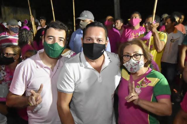 CARNAUBAIS RN-PESQUISA SENSATUS: MARINEIDE DINIZ TEM 41,3% DOS VOTOS VÁLIDOS E VENCERIA ELEIÇÃO EM CARNAUBAIS