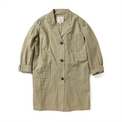 Loose fit linen coat, KRW 139,300 from Thursday Island