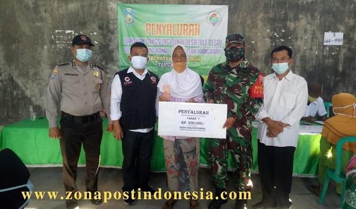 Pemerintah Desa Tanjung Kamal Kecamatan Mangaran Kembali Salurkan BLT DD Kepada Masyarakat Yang Terdampak Pandemi Covid 19