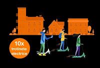 Castiga 10 trotinete electrice Xiaomi - concurs - cartela - orange - 2020 - castiga.net