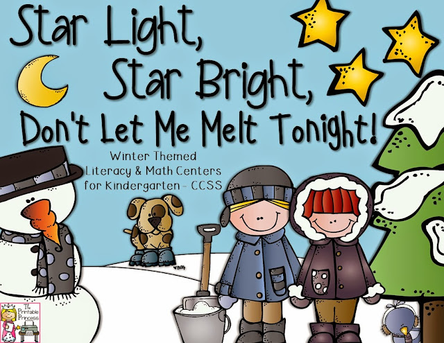 When on the lookout for winter literacy centers for Kindergarten, your students are going to LOVE working on their beginning sounds, syllables, rhyming words, real & nonsense words, CVC words, and short vowel sounds. Add in the FREE download, and this post is a complete hit! Click through to see how this will work in your Kindergarten classroom OR homeschool! These can be used all December or January long, so you'll get plenty of literacy centers in one convenient download.