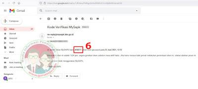 Cek Email Token My SAPK BKN