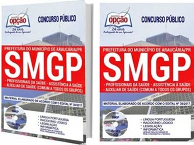 Apostila Prefeitura de Araucária 2017 - SMGP