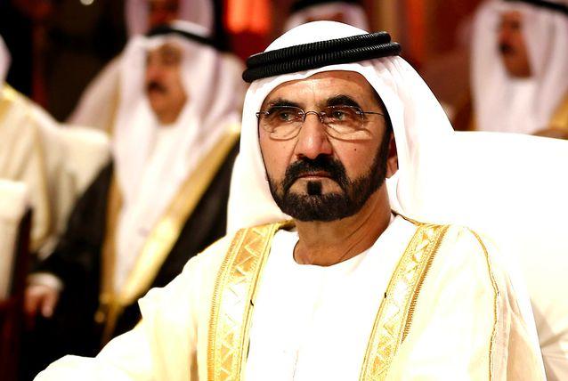 Sheikh Mohammed enche seu avião particular, com 354.000 dólares em suprimentos e envia para o Haiti.