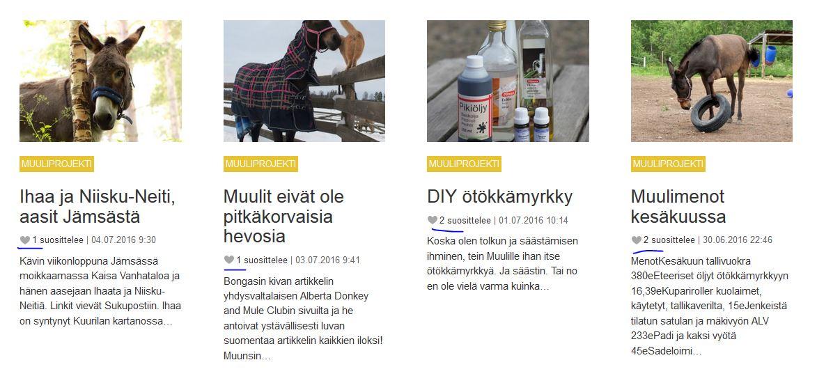 Muuliprojekti  Näin saat blogillesi lukijoita 97f625c4a7