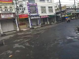 उज्जैन शहर मे टोटल लॉकडाउन रविवार को दिखाई दिया