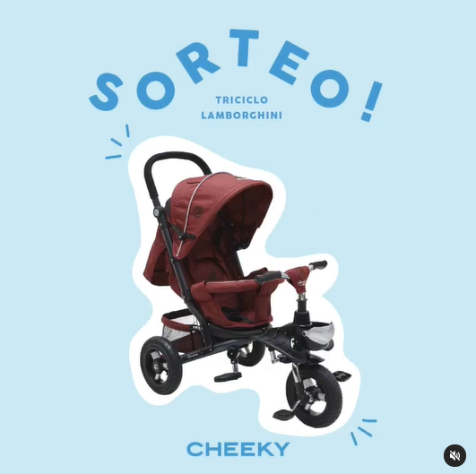 Sorteo Cheeky