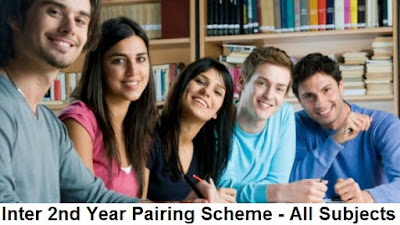 Inter 2nd Year Pairing Scheme 2020 - All Subjects, FA/FSC/ICS - 12th Class