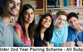 2nd Year Pairing Scheme 2021 - Inter Part 2 All Subjects FA/FSC/ICS 12th Class Assessment