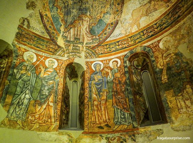Afrescos da Catedral de Urgel, do Século 12
