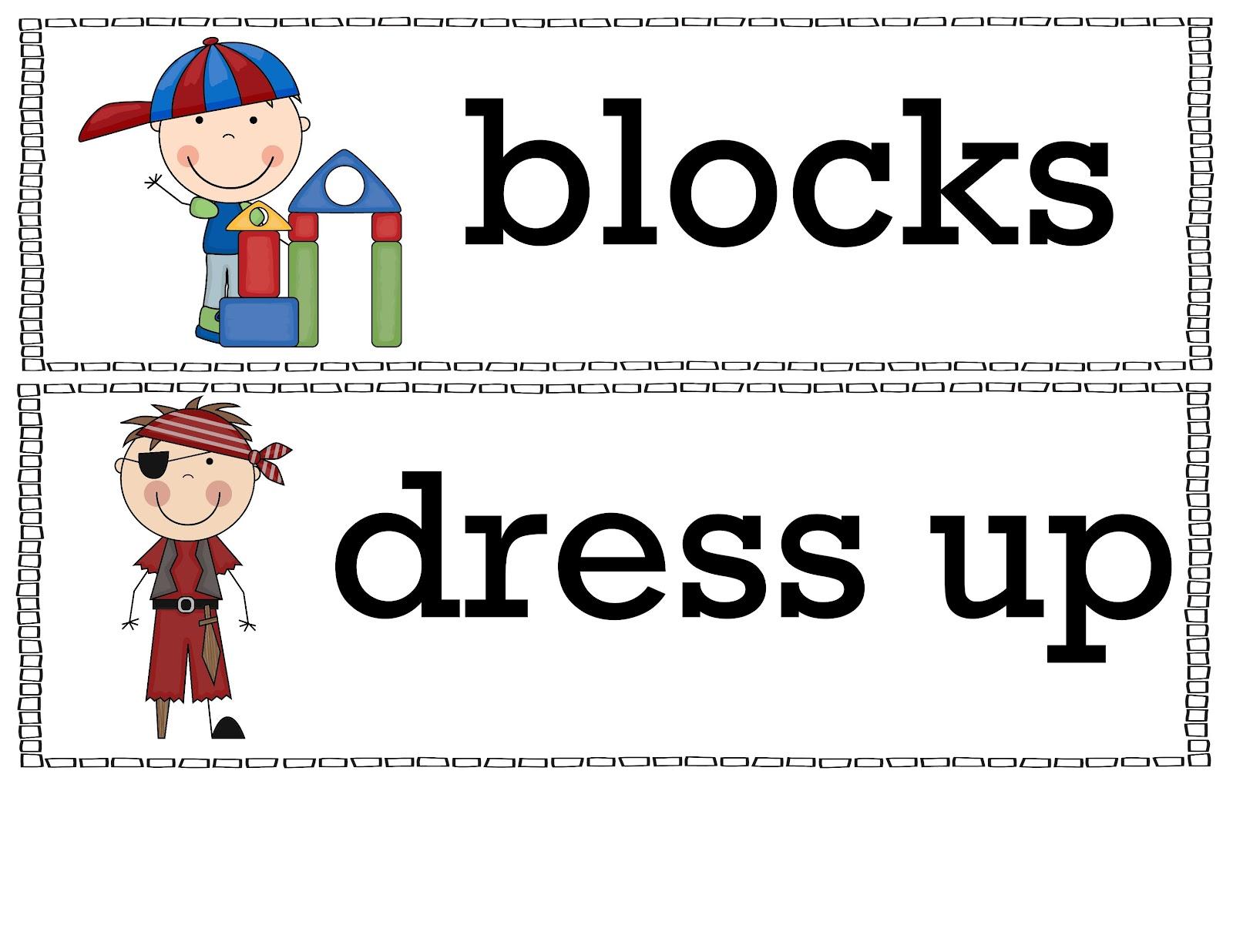 The Crazy Pre K Classroom Free Classroom Bin Labels