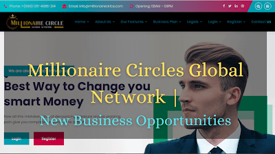Millionaire Circles Global Network | New Business Opportunities: