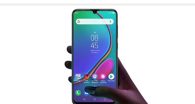 Tecno Phanto 9 smartphone display